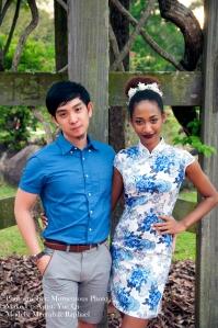 Meerah and Raphael @ Singapore Botanic Gardens Momentous Pix